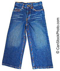 blå,  jeans