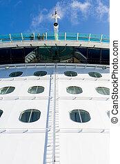 Ships Bridge Over Portholes
