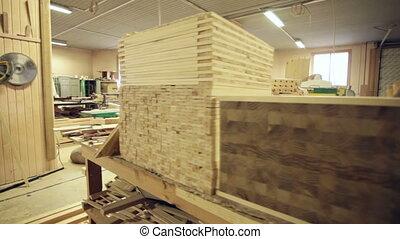 industrial wood workshop