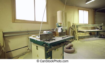 carpenter machine shop wood industry