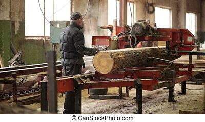 beam working machine working wood