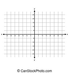 Cartesian Coordinate System vector - image of Cartesian...