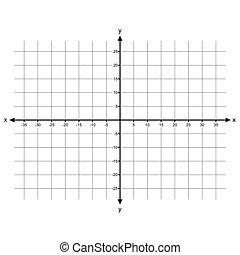 Cartesian Coordinate System vector - image of Cartesian...