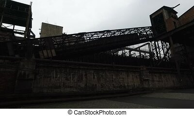 Abandoned Steel Factory - The Lower Vitkovice Area. This is...