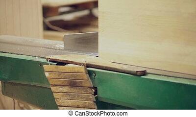Machine carpenter works guard safety