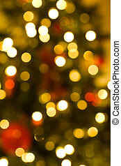 Defocussed christmas lights - Defocussed Christmas lights