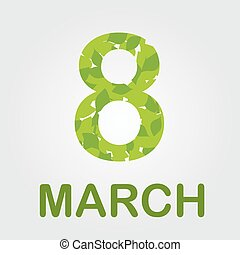 Ecard for march 8 womens day - Ecard for march 8-...
