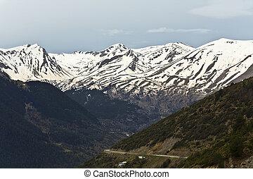 Katara mountain area at Greece