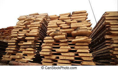 timber production wood - log production plant processing...