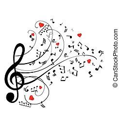 notes swirls