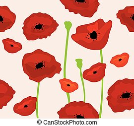 poppies background - poppies