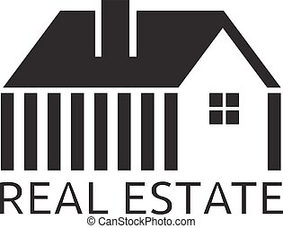 House for real estate business vector design