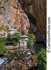 Blagaj dervish house - Bosnia and Herzegovina - architecture...