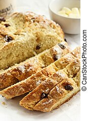 Irish Soda bread Saint Patrick day food - Irish Soda bread...