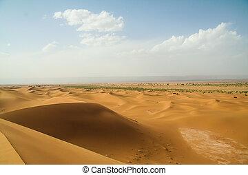landscape marroc desert sand dune