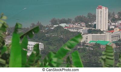 Landscape of Phuket - Aerial landscape of Phuket, Karon...