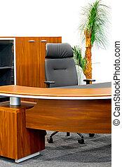 Office furniture detail - Detail of an empty modern office...
