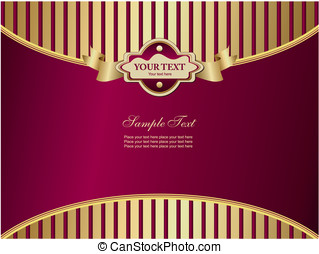 Elegant background with vertical stripes