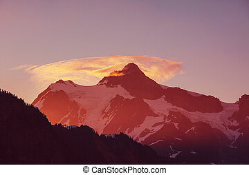 Mt.Shuksan - Mount Shuksan, Washington