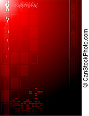 Dark technical background for your design (vertical...