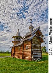 Wooden Church at Kizhi Island - Wooden Church in Kizh Island...