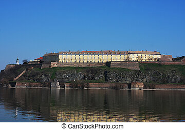 Petrovaradin fortress, Novi Sad - Serbia - architecture background