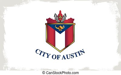 Austin City Flag - The flag as adopted by the city of Austin