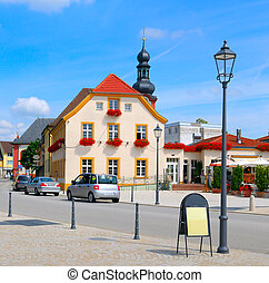 beautiful urban landscape (germany, Schwetzingen)