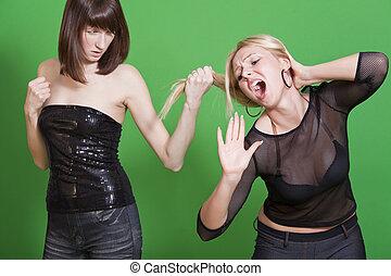 dispute between girls