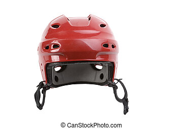Hockey Helmet - mission to protect the players head from...
