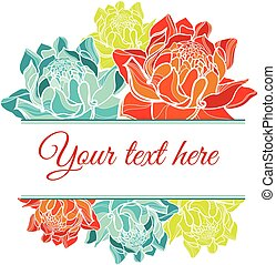 vector floral Save the Date - Set of vector floral Save the...