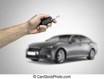Concept of buying new car - concept of buying new car or car...