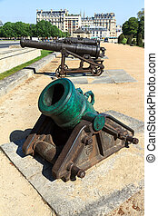 Ottoman Howitzer at Les Invalides in Paris, France