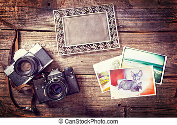 Old photograpy objects