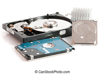 hard disk drives 25 and 35 inches