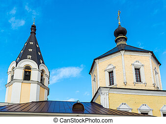 Church of Nativity in Fishers, Russia, Tver - Church of the...