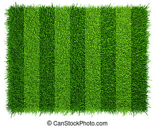 Green grass soccer field background Realistic textured