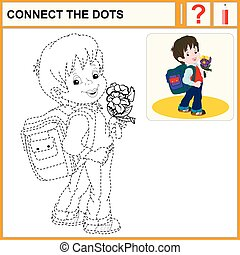 0316_5 connect the dots - Connect the dots, preschool...