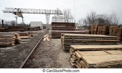 timber warehouse wood