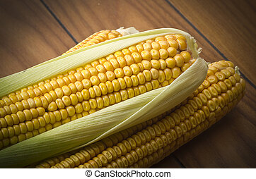 Ripe of corn