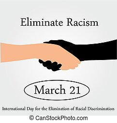 International day for the elimination of Racism- March 21