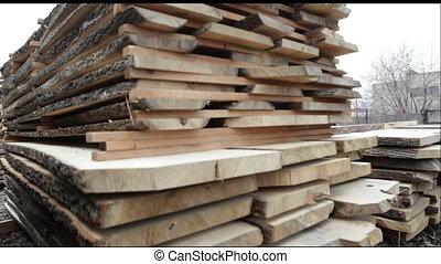 Wood stock timber board