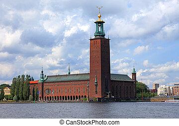 Stockholm city hall, Sweden, Europe