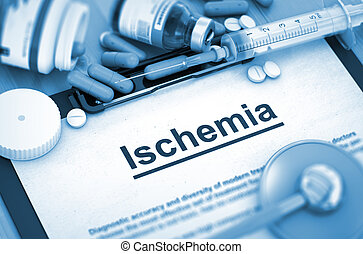 Ischemia Medical Concept - Ischemia, Medical Concept with...