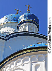 Domes - Blue domes of the Orthodox Church, Gatchina