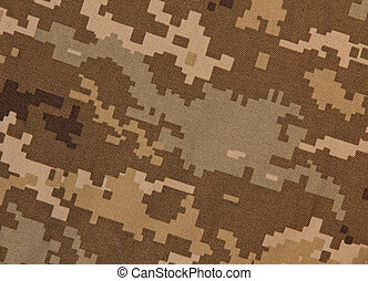 Military camouflage pattern as background