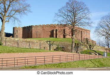 Chester Castle - View of Chester Castle, situated southwest...