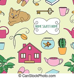Home Sweet home pattern - Home Sweet Home pattern ,set of...