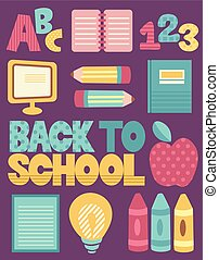 Education Back to School Elements