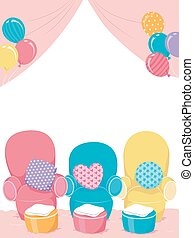 Spa Party Birthday Chairs Balloons